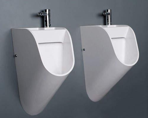「請記得洗手」小便斗 男士們拜託請記得.....